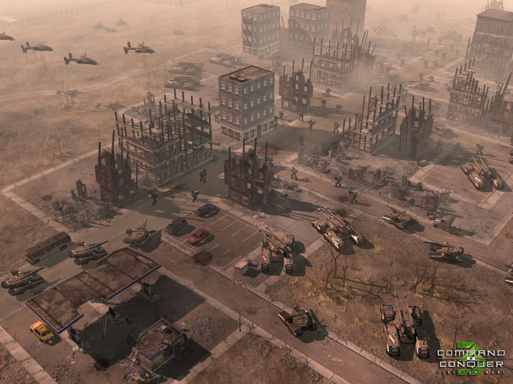 Command & Conquer 3 Tiberium Map - AOD screenshot 3