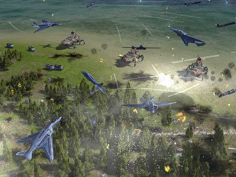 Supreme Commander - Battle Isles screenshot 1