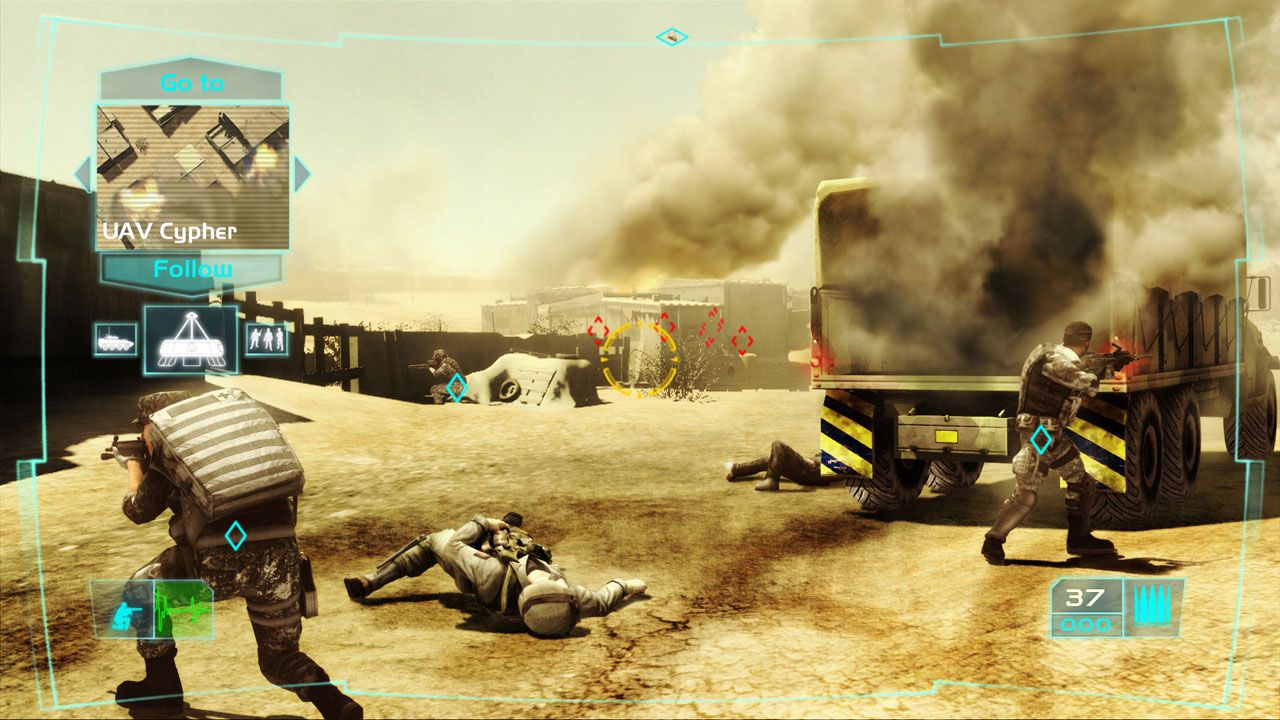 Ghost Recon Advanced Warfighter 2 - Developer Diary Trailer screenshot 2