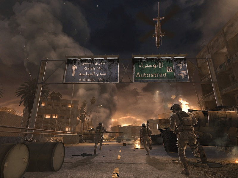 Call of Duty 4: Modern Warfare Direct2Drive Patch screenshot 1