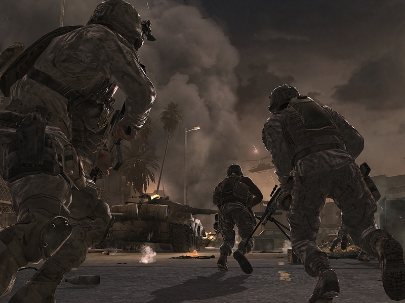 Call of Duty 4: Modern Warfare Direct2Drive Patch screenshot 2