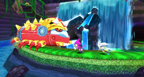 Sonic Rivals 2 Battle Modes Trailer screenshot 3