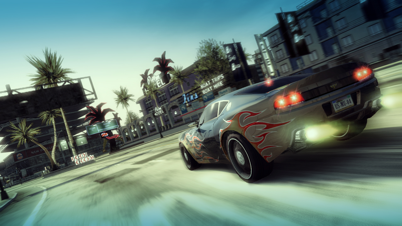 Burnout Paradise - Watson R-Turbo Roadster Trailer screenshot 1