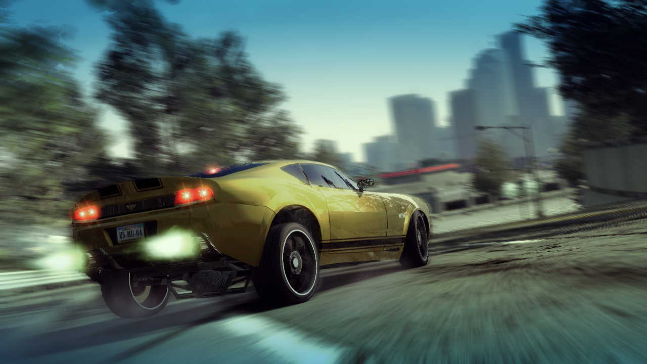 Burnout Paradise - Watson R-Turbo Roadster Trailer screenshot 3
