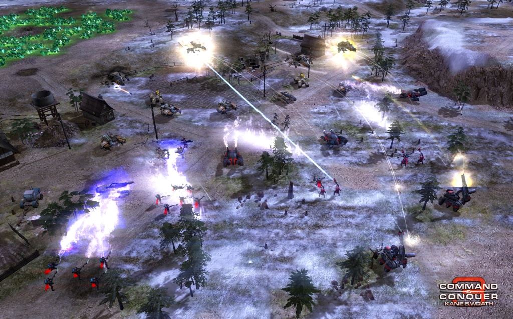 Command & Conquer 3: Kane's Wrath Gunship Gauntlet Map screenshot 1