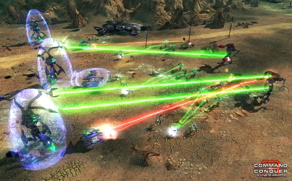 Command & Conquer 3: Kane's Wrath Gunship Gauntlet Map screenshot 3