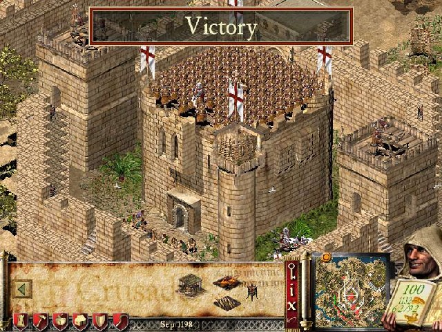Stronghold Crusader Extreme +10 Trainer for 1.2e screenshot 1