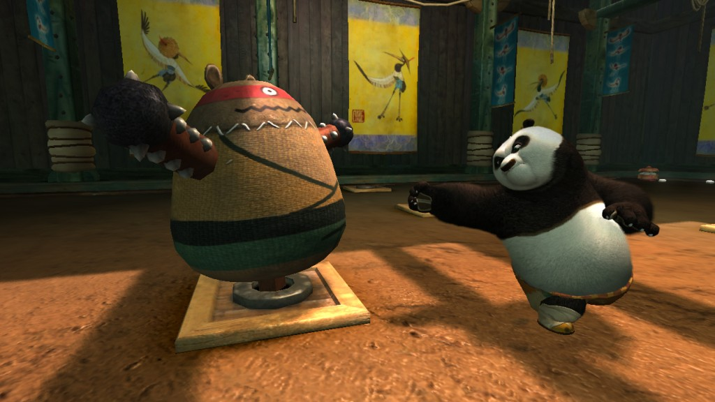 Kung Fu Panda Demo screenshot 1