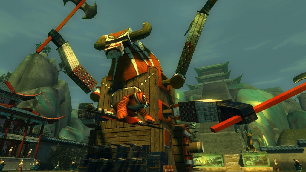 Kung Fu Panda Demo screenshot 2