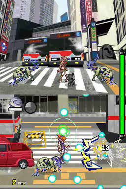 The World Ends With You - Card Combo Gameplay screenshot 1