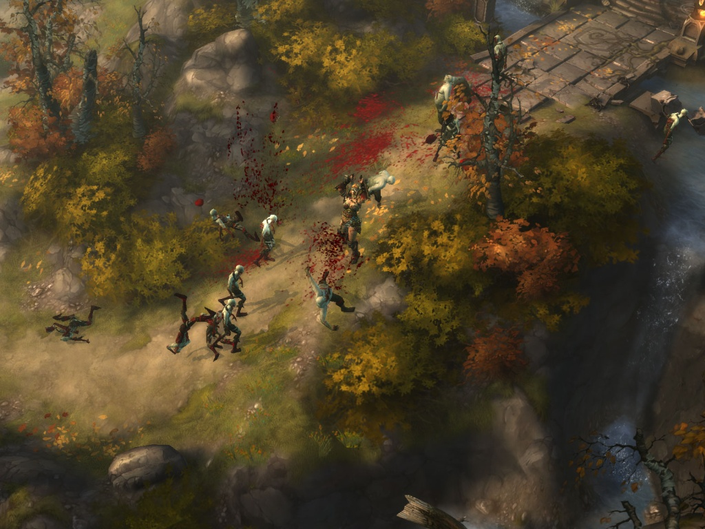 Diablo 3 - Artwork Trailer screenshot 2
