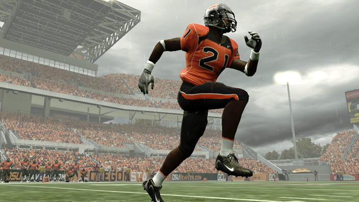NCAA Football 09 - Heath and Lance Trailer screenshot 2