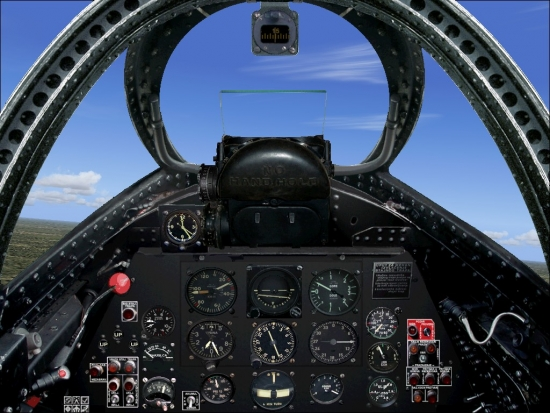 Microsoft Flight Simulator 2004 Addon - Soko Galeb-2 screenshot 3