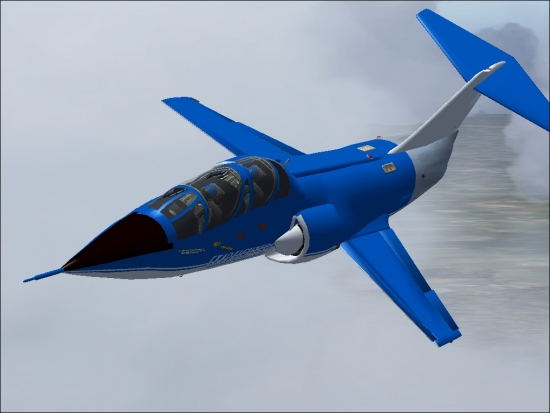 Microsoft Flight Simulator 2004 Addon - F-104 Team Starfighters screenshot 1