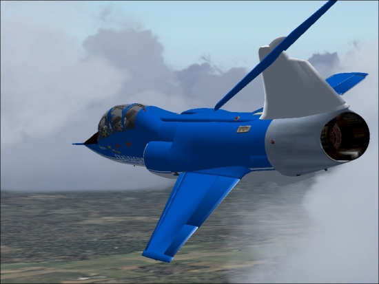 Microsoft Flight Simulator 2004 Addon - F-104 Team Starfighters screenshot 2