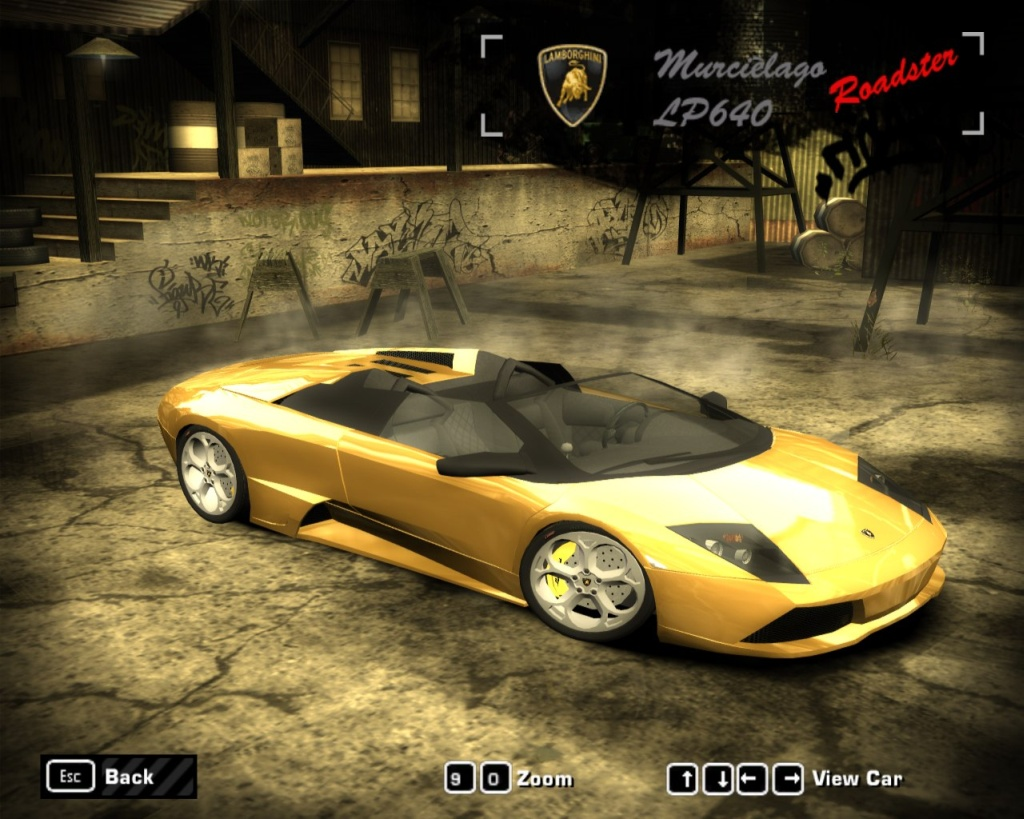need for speed most wanted lamborghini murcielago lp640 roadster add on do. Black Bedroom Furniture Sets. Home Design Ideas