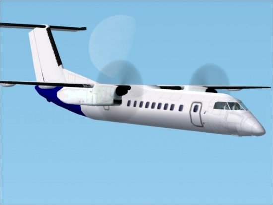 Microsoft Flight Simulator 2004 Addon - DeHavilland Dash8-300 screenshot 1