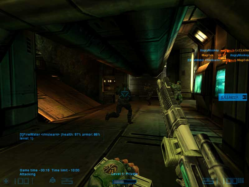 Half-Life: Natural Selection Server screenshot 2