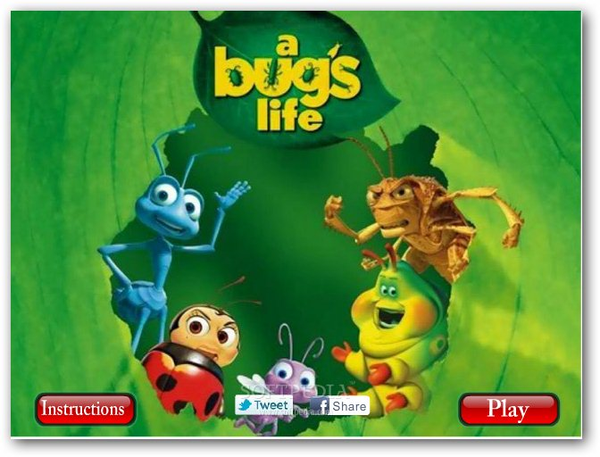 Bugs life spot the difference