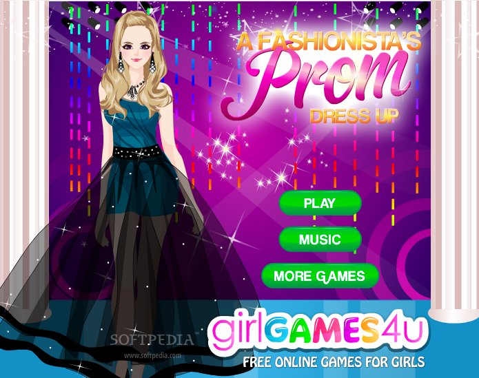 All black dress up games