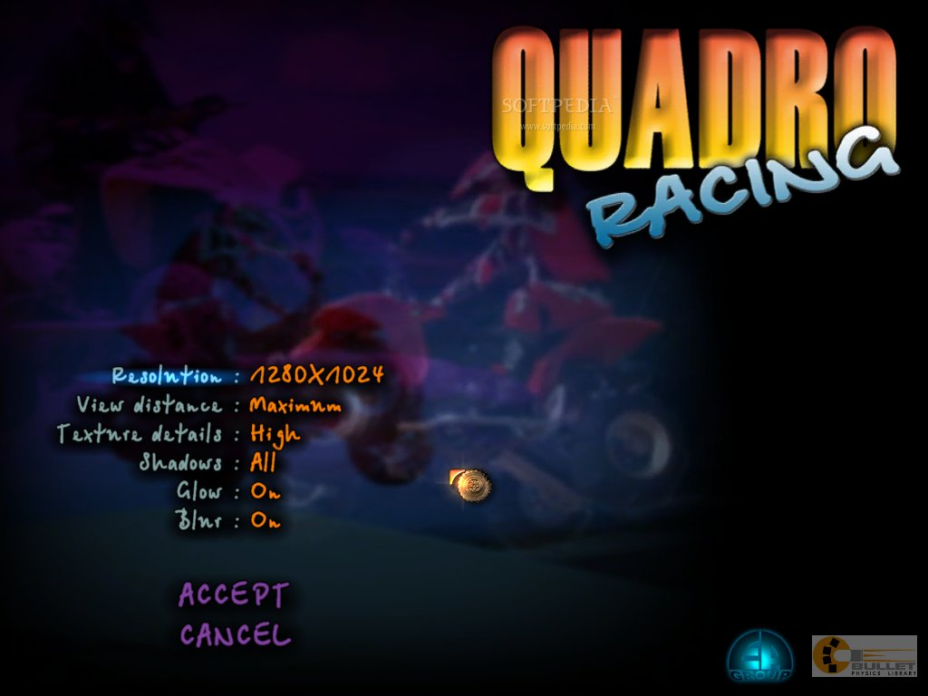 ATV Quadro Racing screenshot 1