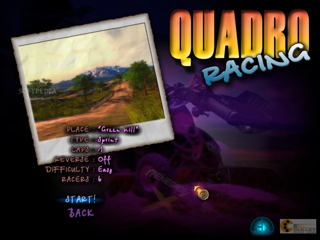 ATV Quadro Racing screenshot 3