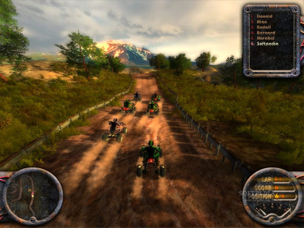 ATV Quadro Racing screenshot 4