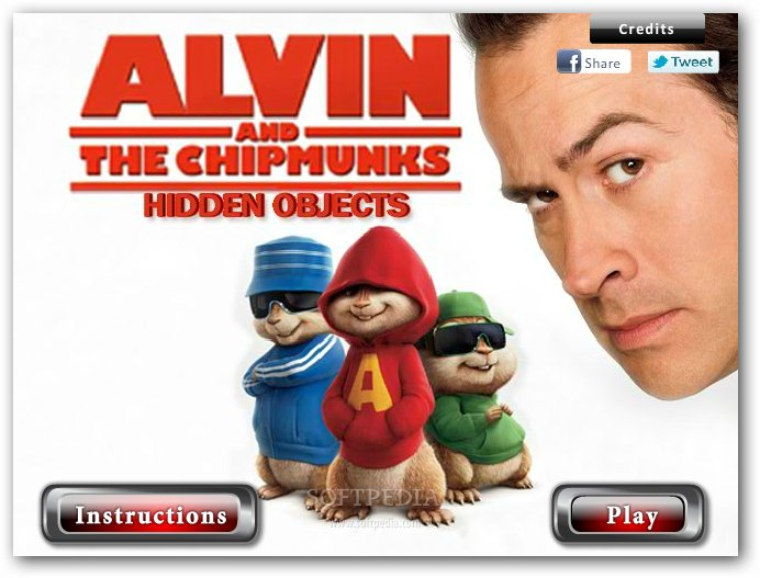 Alvin and the Chipmunks - Hidden Objects screenshot 1