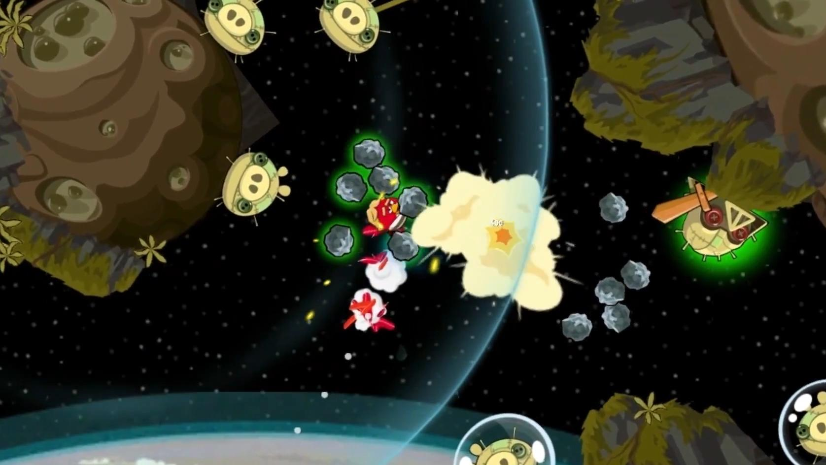 Screenshot 3 of angry birds star wars path of the jedi episode trailer
