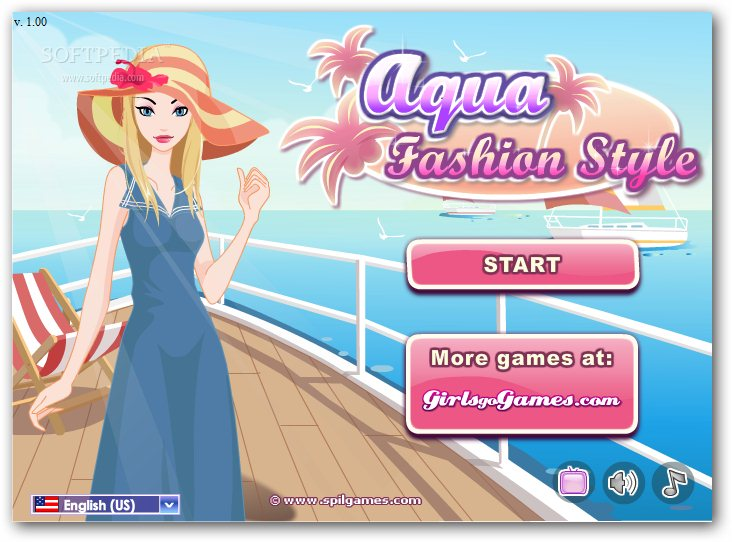 Aqua Fashion Style screenshot 1