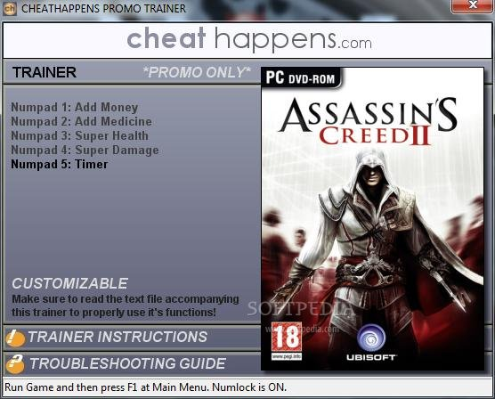 Assassin\'s Creed II Trainer
