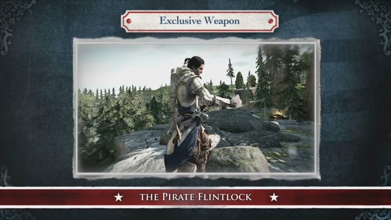Assassin's Creed III: Official Special Edition Unboxing Trailer screenshot 7