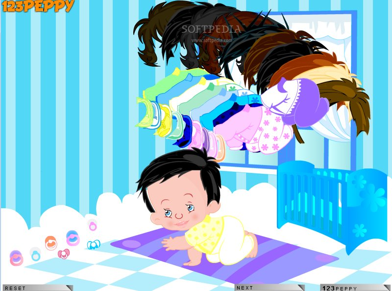 free online games dress up babies