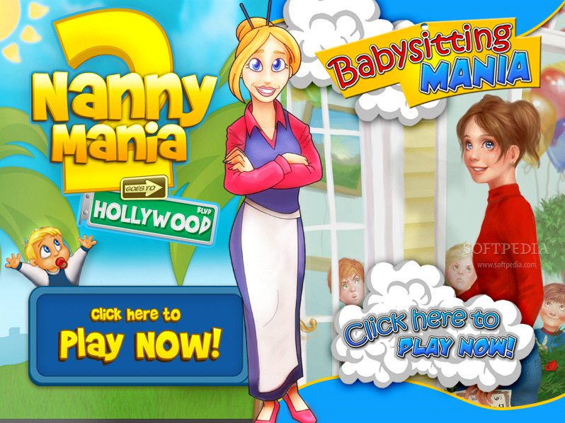 Bigfishgames #62: nanny mania 2: goes to hollywood