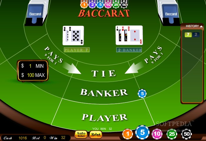Free Baccarat Online Games