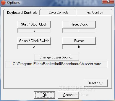 Basketball Scoreboard Standard screenshot 2