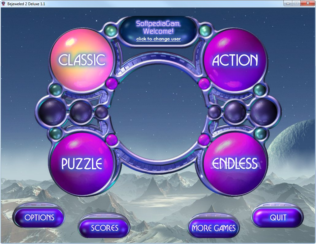 Bejeweled 2 deluxe demo you can choose from a variety of game modes