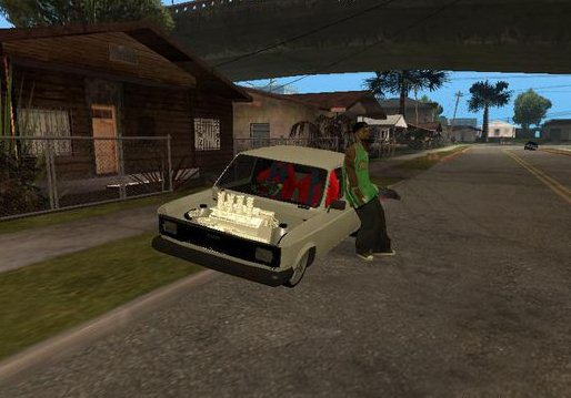 GTA: San Andreas Addon - Zastava 128 screenshot 1