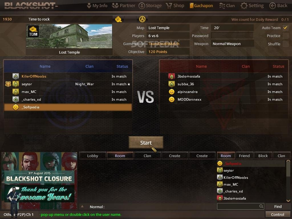 Screenshot 3 Of BlackShot Online Client The Image Below Has Been ...