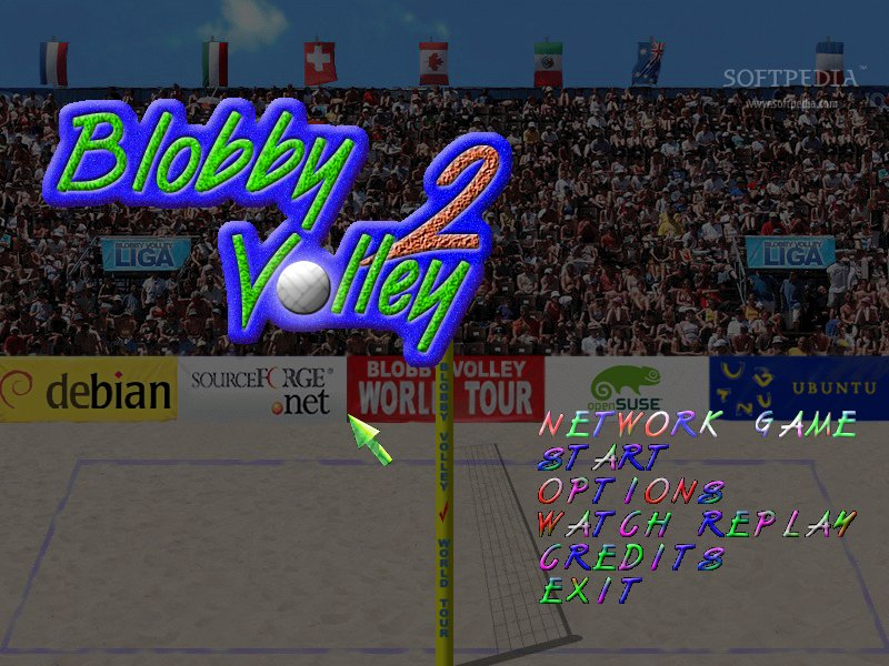 Free Download Game Blobby Volley Versi 2 Gratis gambar