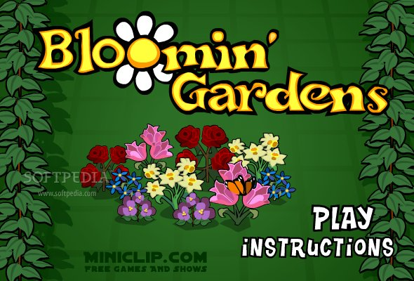 blooming garden flower game