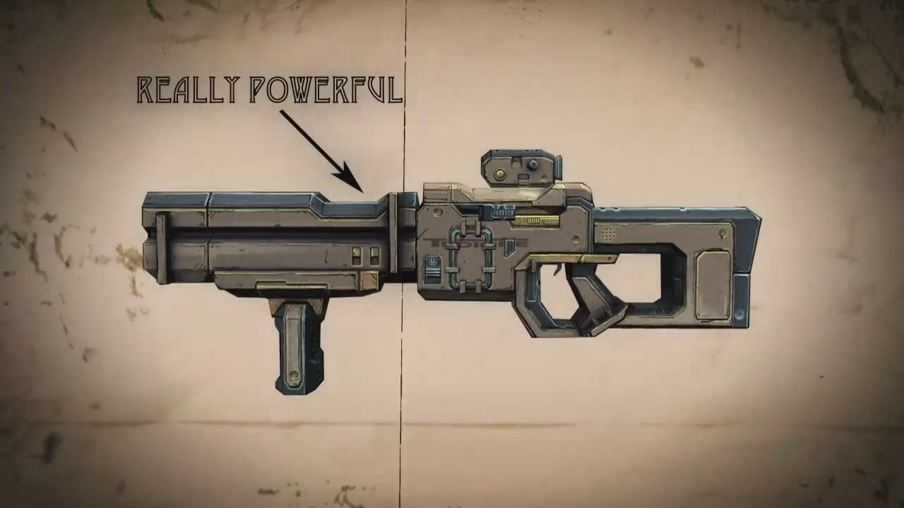 Borderlands 2 - Gamescom 2012 Tediore Weapons Trailer screenshot 4