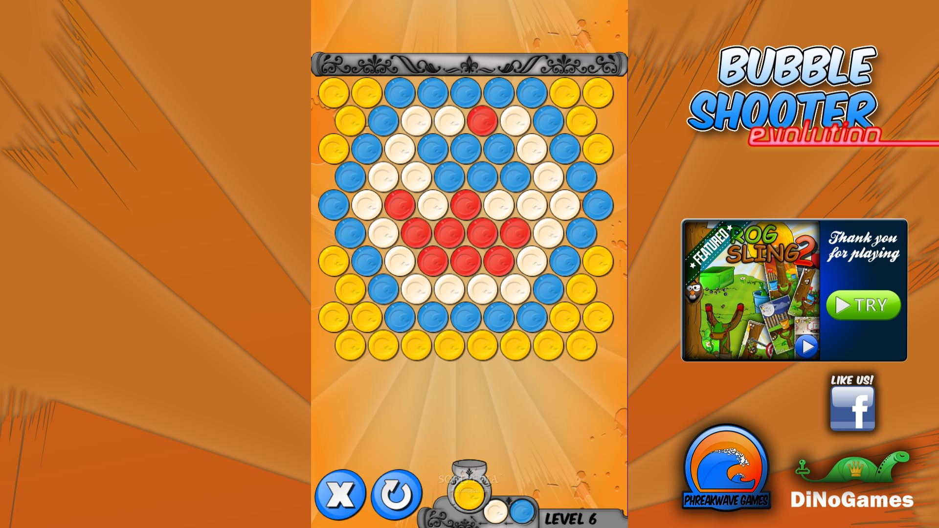 bubble shooter freeware