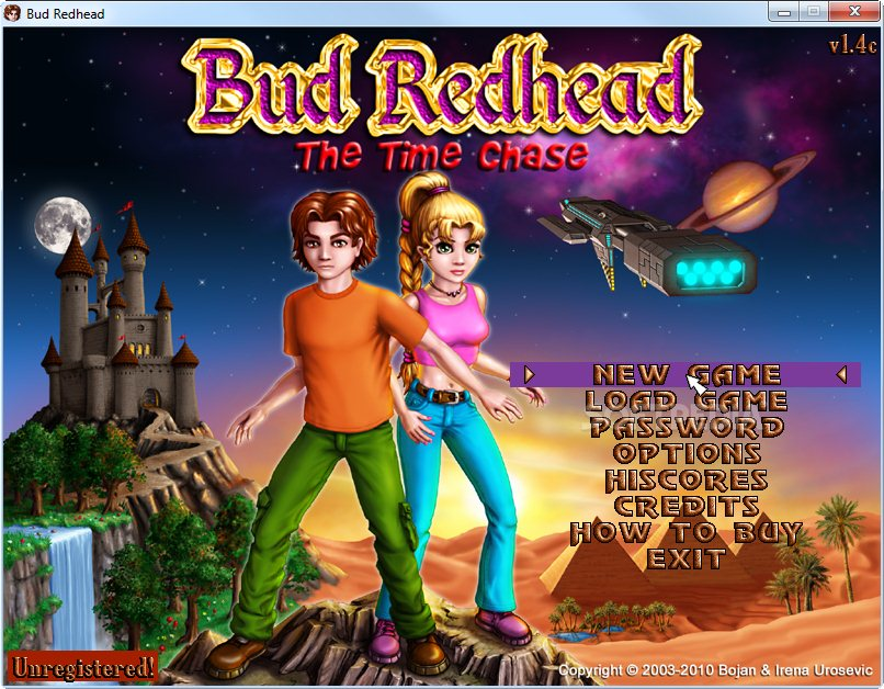 Bud Redhead - The Time Chase Demo - You can either resume from your last  save ...