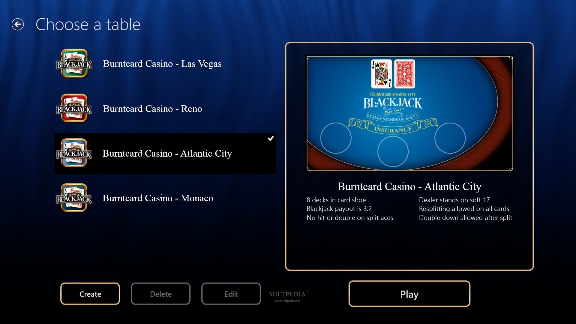 blackjack game download for windows 7