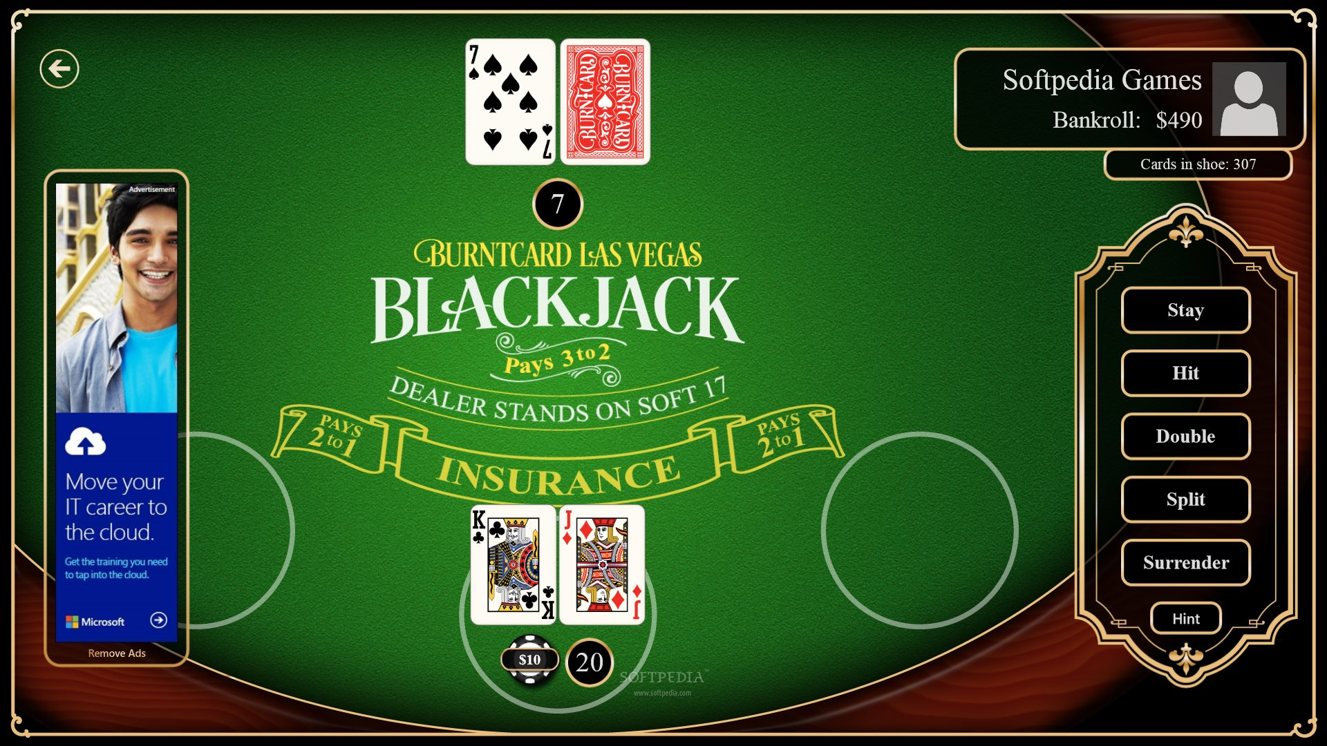 free blackjack downloads windows