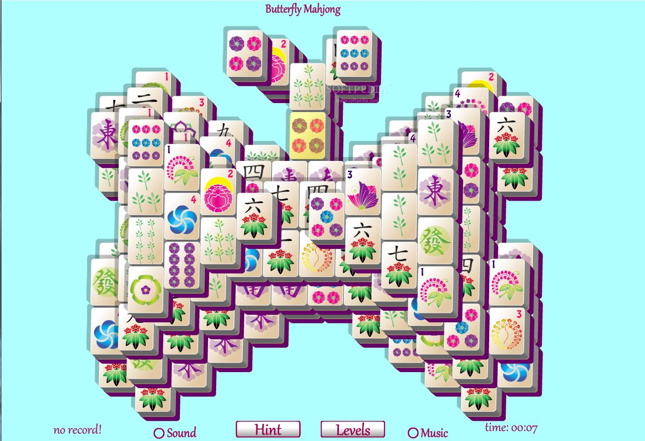 free online butterfly mahjong connect