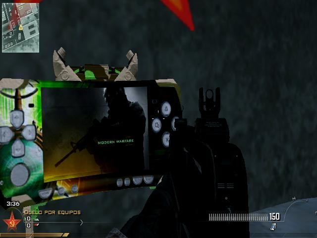 Call of Duty: Modern Warfare 2 Skin - Claymore PSP screenshot 1