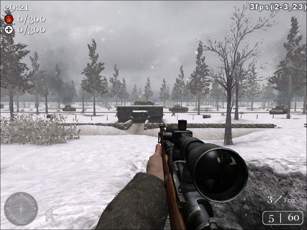 Call of Duty 2 Map - Ardennes Forest Screenshots, screen capture ...
