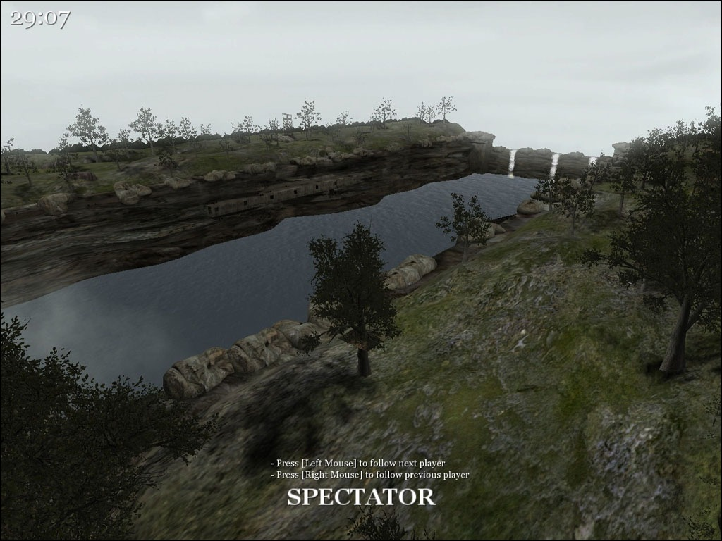 Call of Duty 2 Map - Canyon screenshot 1